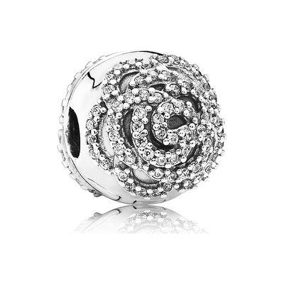 PANDORA Shimmering Rose CZ Clip