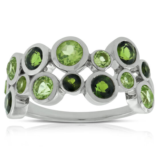 Lisa Bridge Bezel Gemstone Ring