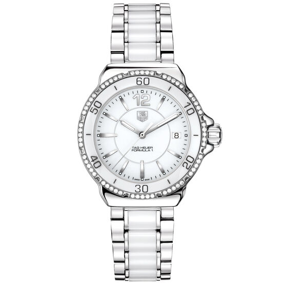 TAG Heuer Formula 1 Watch with Diamond Bezel, 37mm