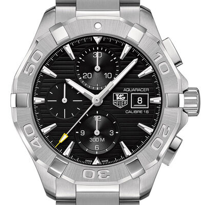 TAG Heuer Aquaracer Calibre 16 Chronograph, 43mm