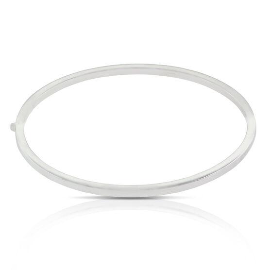 Roberto Coin Oval Bangle Bracelet 18K