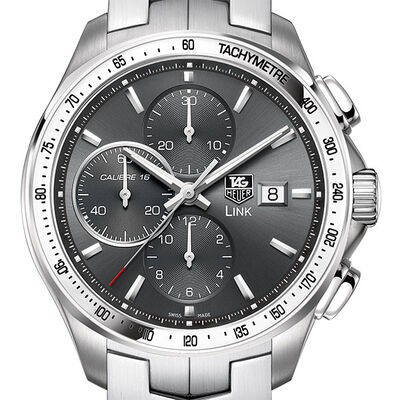 TAG Heuer Link Calibre 16 Automatic Chronograph