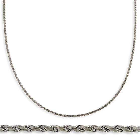 Rope Chain 14K, Adjustable Length