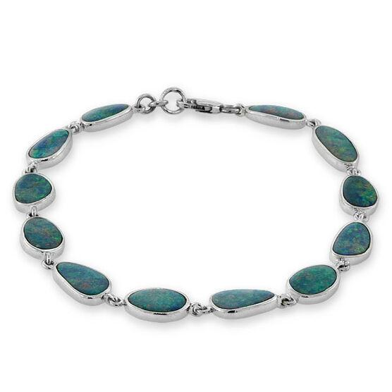 Opal Doublet Bracelet 14K