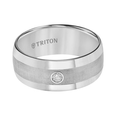 TRITON Men's Band in Tungsten