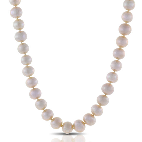"""Freshwater Cultured Pearl Strand, 52"""""""