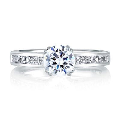 A.JAFFE Diamond Semi-Mount Ring 18K