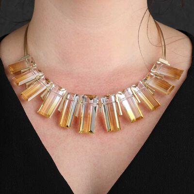 Lisa Bridge COUTURE Collection Quartz Necklace 14K