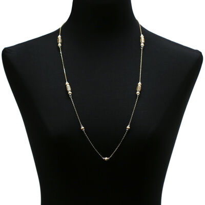Toscano Filigree Necklace 14K