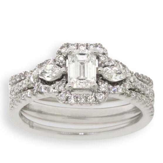 Diamond Wedding Set 14K