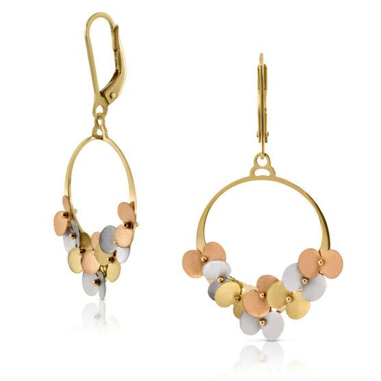 Hoop Earrings 14K