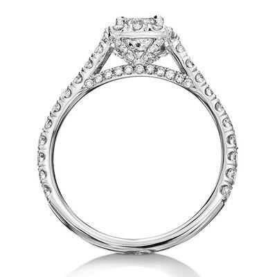 Ikuma Canadian Princess Cut Diamond Ring 14K