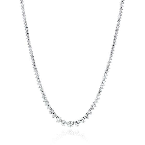 Diamond Riviera Necklace 14K