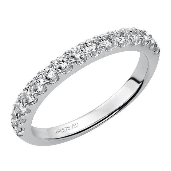 ArtCarved Diamond Wedding Band 14K