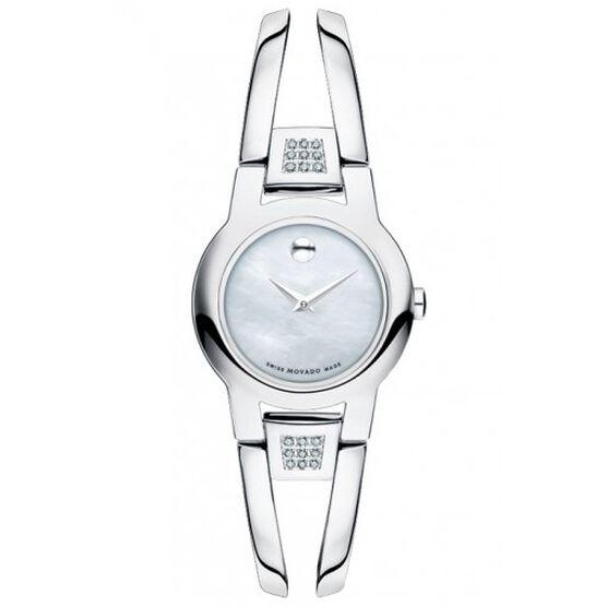 Movado Amorosa Mother-of-Pearl Diamond Watch