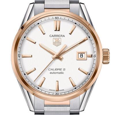 TAG Heuer Carrera Calibre 5 Watch, 39mm