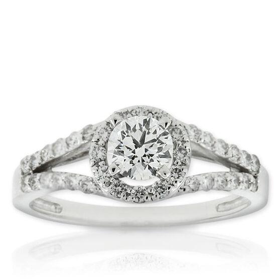 Forevermark Diamond Ring 18K, 1/2 ct. center