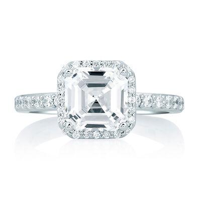 A.JAFFE Diamond Semi-Mount Ring
