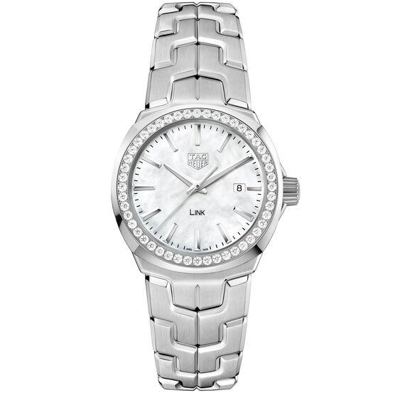 TAG Heuer Link  Diamond Bezel Quartz Watch