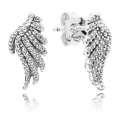 PANDORA Majestic Feathers Earrings