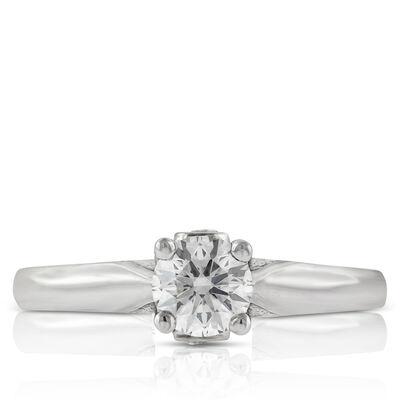 Ikuma Canadian Diamond Solitaire Ring 14K, 1/2 ct.