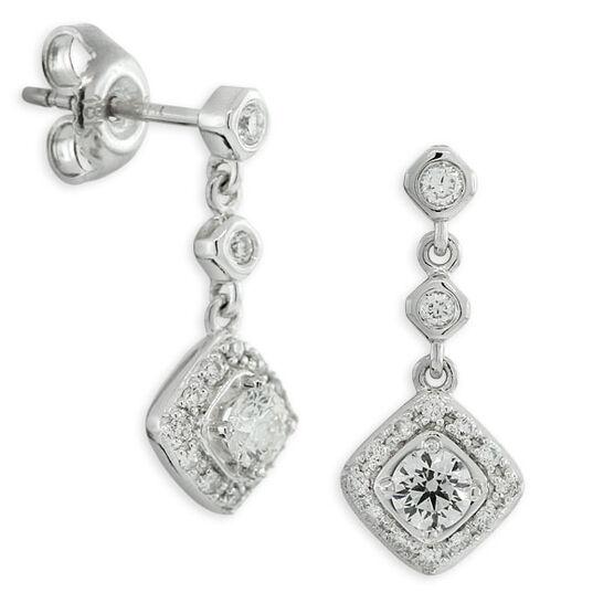 Forevermark Diamond Earrings 18K, 5/8 ctw.
