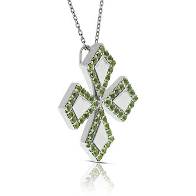 Lisa Bridge Peridot Pendant