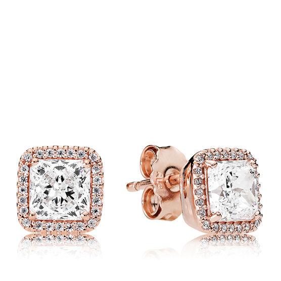 Timeless Elegance, PANDORA Rose™ CZ Earrings