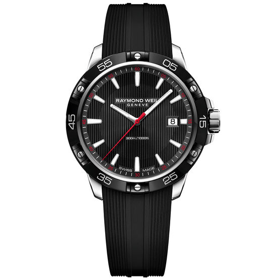 Raymond Weil Tango Rubber Strap Watch