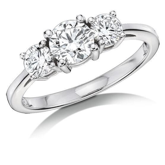 Forevermark Diamond Ring 18K, 1 ctw.
