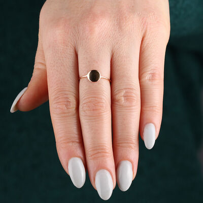 Rose Gold Reflections Ring 14K