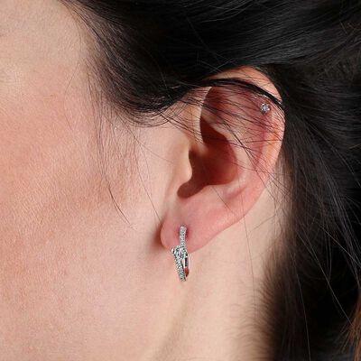 Perfectly Pair Diamond Earrings 14K