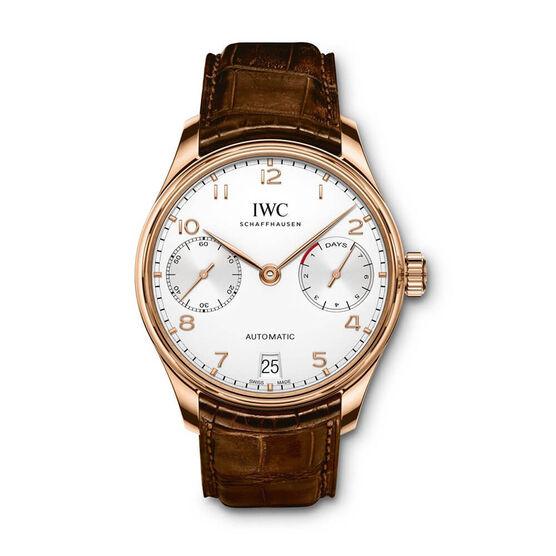 IWC Portugieser Automatic Watch 18K Rose Gold