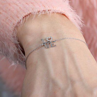 LOVE Diamond Bracelet 14K