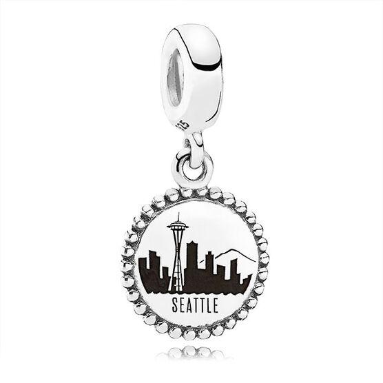 PANDORA Seattle Skyline Dangle Charm