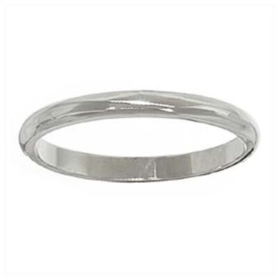 2mm Band 14K, Size 6