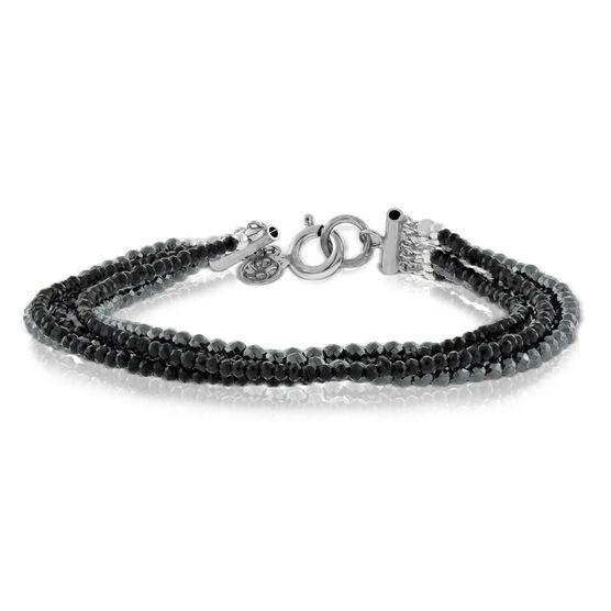 Lisa Bridge Hematite & Spinel Bracelet