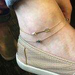 Arrow Anklet 14K
