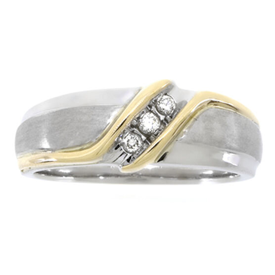 Men's Diamond Ring 14K