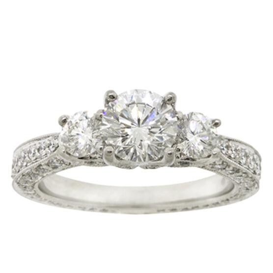 Ben Bridge Signature Diamond™ Ring in Platinum