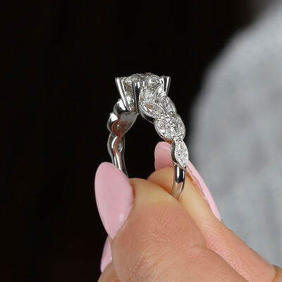 Signature Forevermark Diamond Engagement Ring 18K