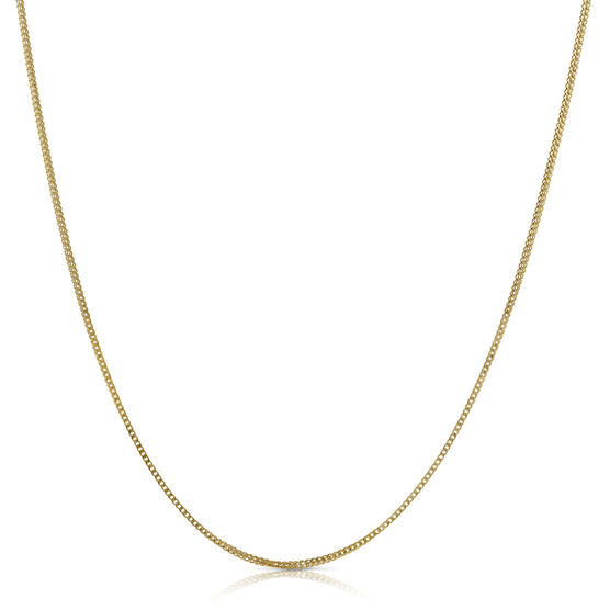 """Solid Franco Chain 14K, 24"""""""