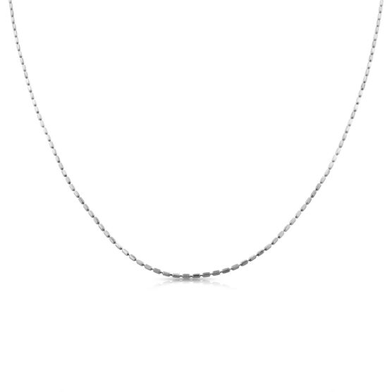 """Square Bead Link Chain 14K, 20"""""""