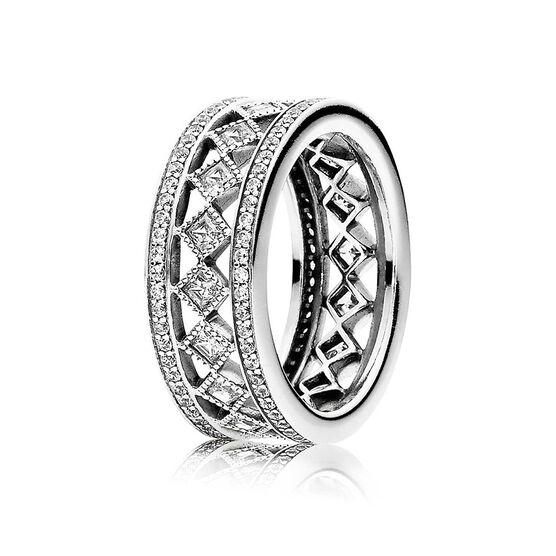 PANDORA Vintage Fascination CZ Ring