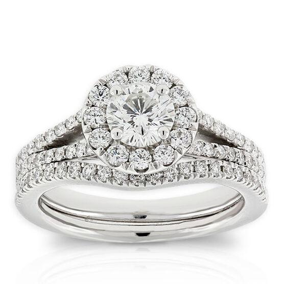 Signature Forevermark Diamond Bridal Set 18K