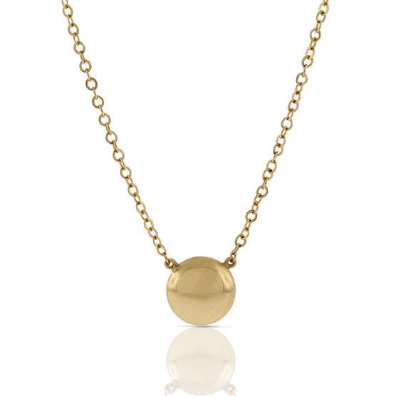 Gold Dot Necklace 14K