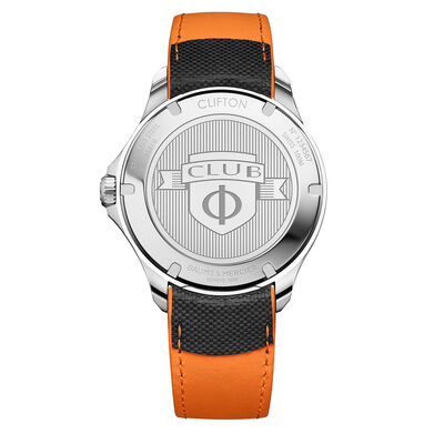 Baume & Mercier CLIFTON CLUB White Dial Watch