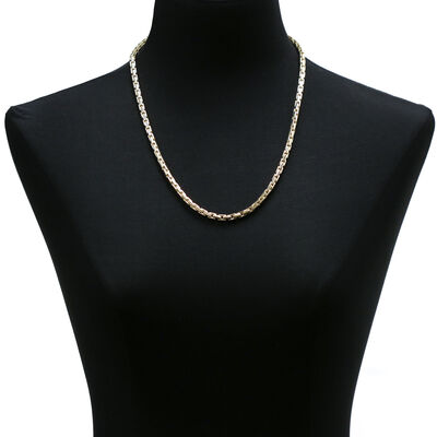 Toscano Cardano Link Necklace 14K