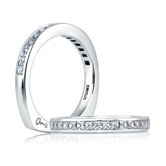 A.JAFFE Diamond Wedding Ring 18K