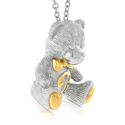 2016 Benny Bear Pendant in Sterling Silver
